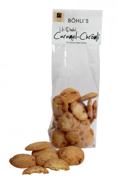 Caramel Guezli aus Ur-Dinkel