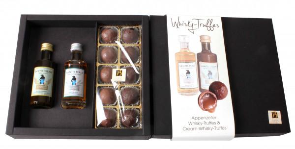 Whisky-Truffes mit Säntis Malt & Säntis Cream