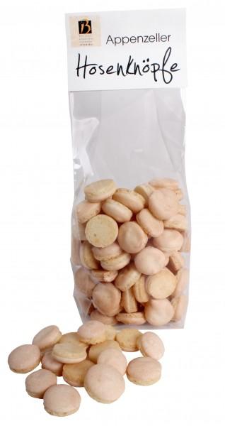Luftiges Eiweissgebäck mit Bergamottenote