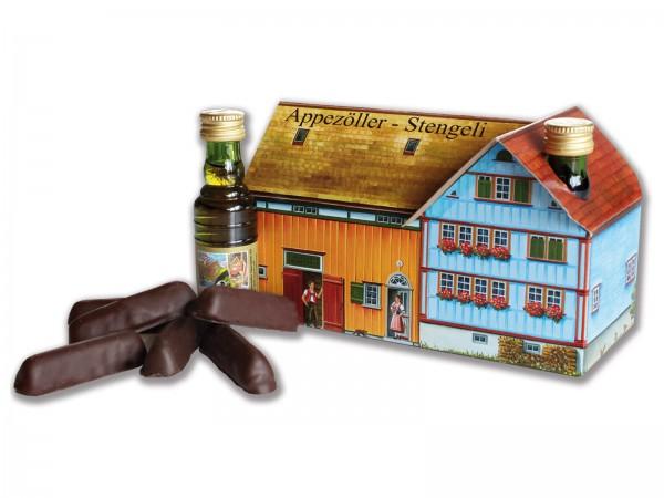Appenzeller Haus mit A-Stengeli und Fläschli