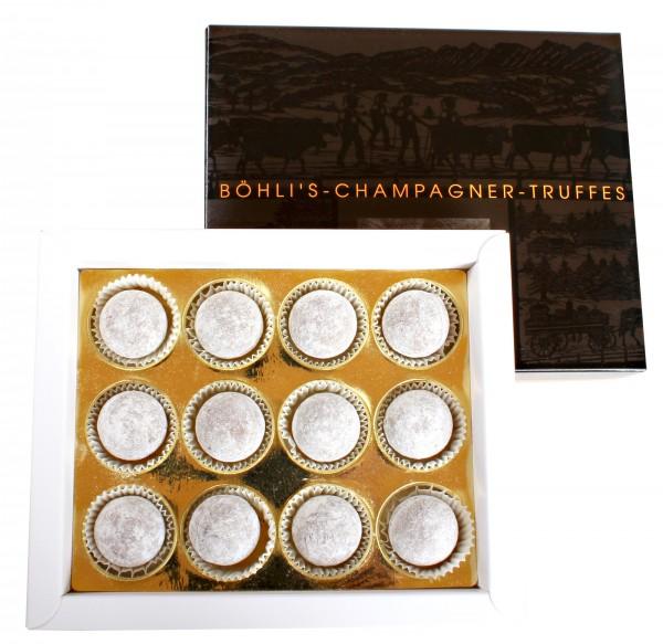 Champagner-Truffes klein, 12 Stück
