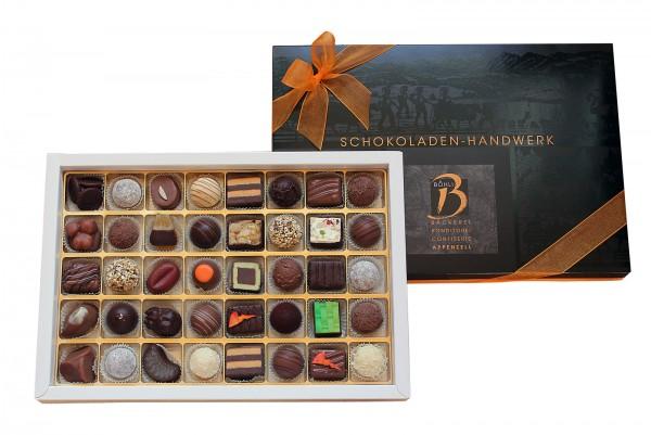 40 Schokoladenkunstwerke